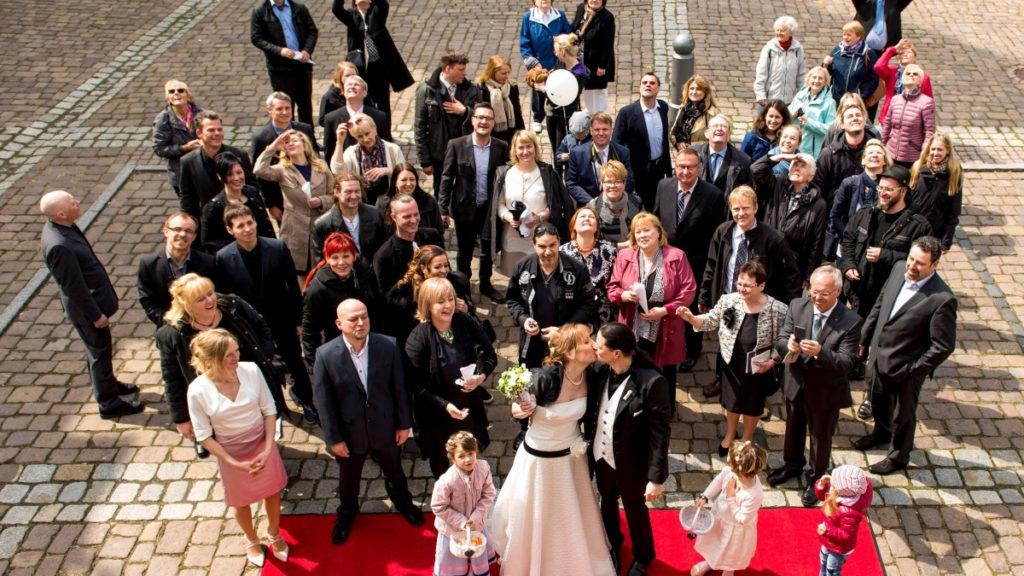 Die Hochzeit von Marco und Eileen in Bad Lausick