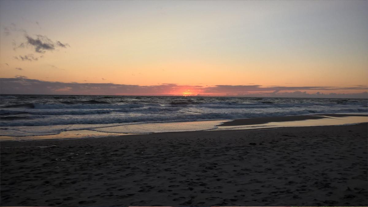 Sondervig - Sonnenuntergang am Strand