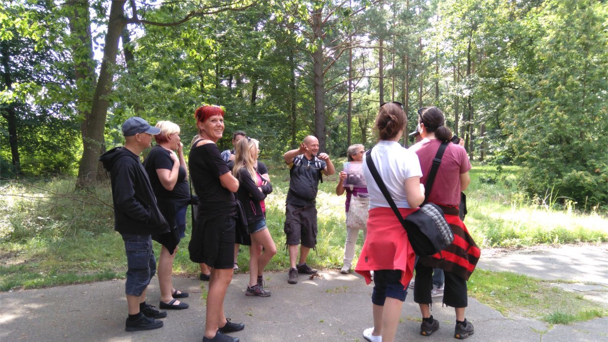 Beelitz Heilstätten - Gruppenbild